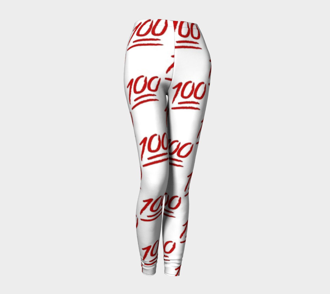 *NEW* 100 Emoji Leggings - Iron Queen