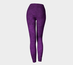 Purple Violet Leggings - Iron Queen