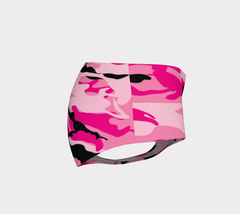 Pink Camo Booty Shorts - Iron Queen