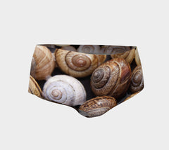 Sea Shells Booty Shorts - Iron Queen