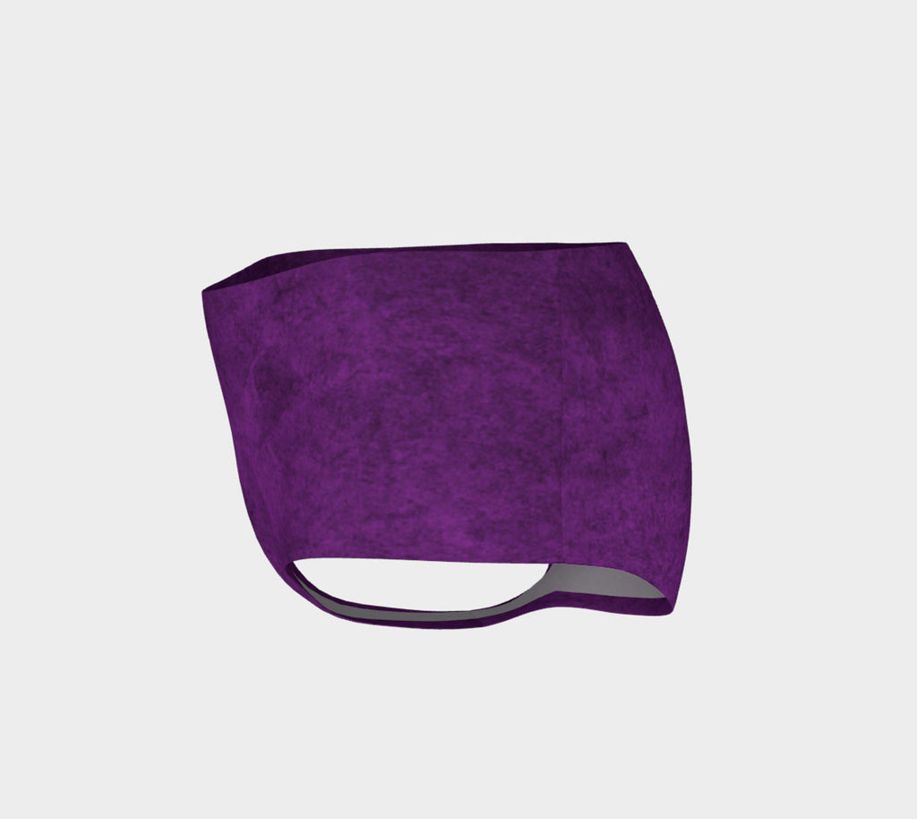 Purple Violet Mini Shorts - Iron Queen
