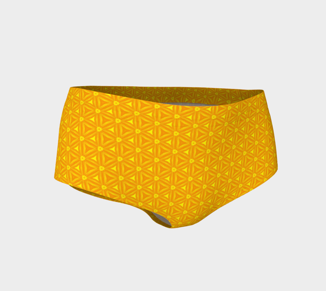 Orange Candy Booty Shorts - Iron Queen