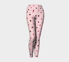 Pink Doll Yoga Leggings - Iron Queen