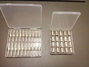 NICKEL PLATED PT-31 EXTENDED CONSUMABLES 53 PIECES / try theses