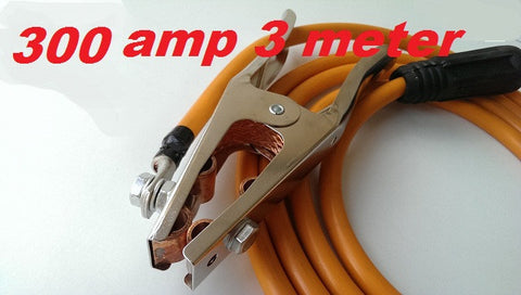 300 AMP EARTH CLAMP with 3 m lead and plug
