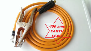 400 AMP EARTH CLAMP with 3 m lead and plug