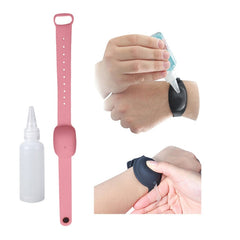 Wristband Hand Sanitizer Dispensing Portable Bracelet