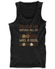 Eating Cookies was Real Workout Men's Funny Tanktop Fitness Sport Tanktop - Slangz TeeZ