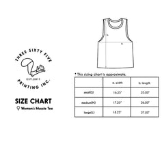 Happy Hour Work Out Muscle Tee Women's Workout Tank Sleeveless Top - Slangz TeeZ