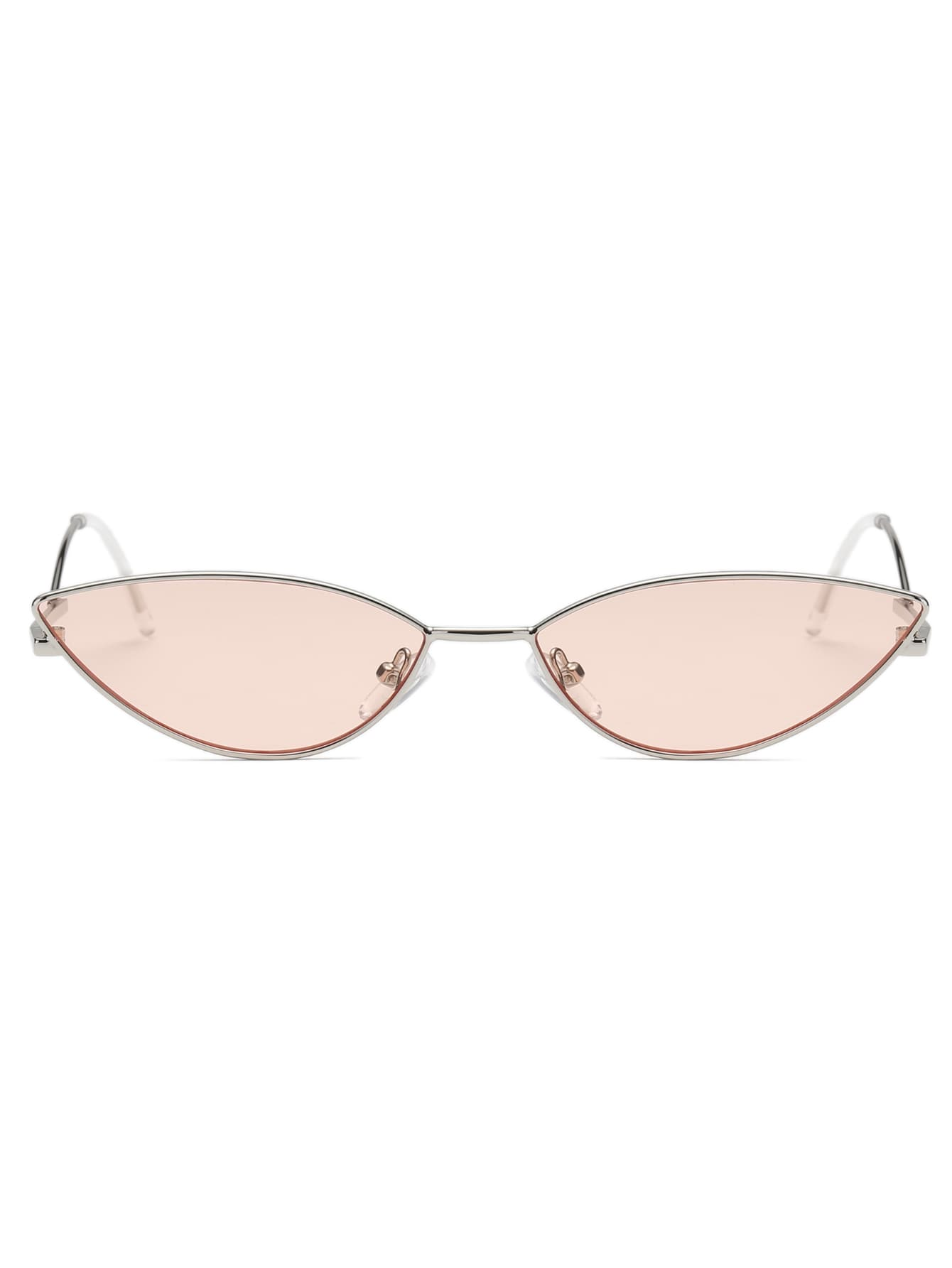 Tinted Lens Cat Eye Sunglasses - Slangz TeeZ
