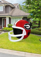 GEORGIA BULLDOGS INFLATABLE LAWN HELMET - Slangz TeeZ