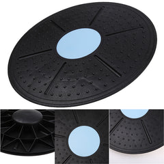 Balance Board Fitness Equipment 360 Degree Rotation Massage for Yoga Gym Waist Twisting Exerciser Load-bearing 150kg