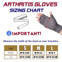 Premium Arthritis Compression Gloves - Slangz TeeZ