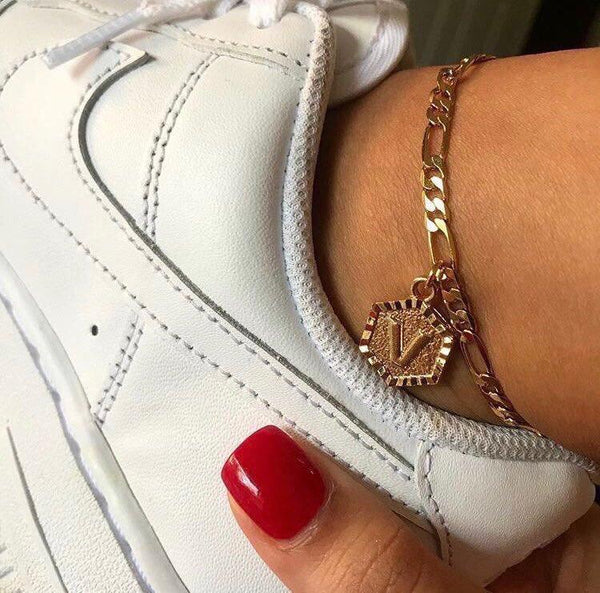 Initial Anklet - Flash Sale Limited Quantities - Slangz TeeZ