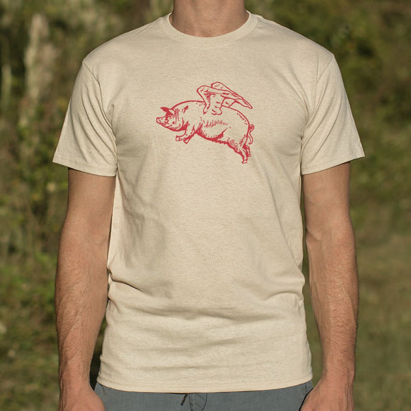 Flying Pig T-Shirt (Mens) - Slangz TeeZ