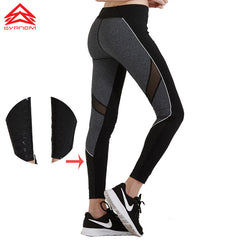 Yoga Pants Fitness Mesh Sports Leggings - Slangz TeeZ