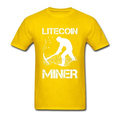 Litecoin Mining is Serious Cryptocurrency T Shirt - Slangz TeeZ