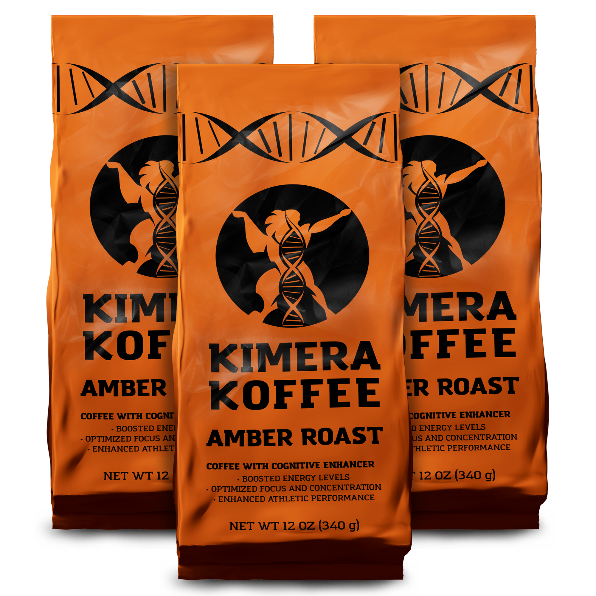3 Pack - Kimera Koffee Amber (12oz)