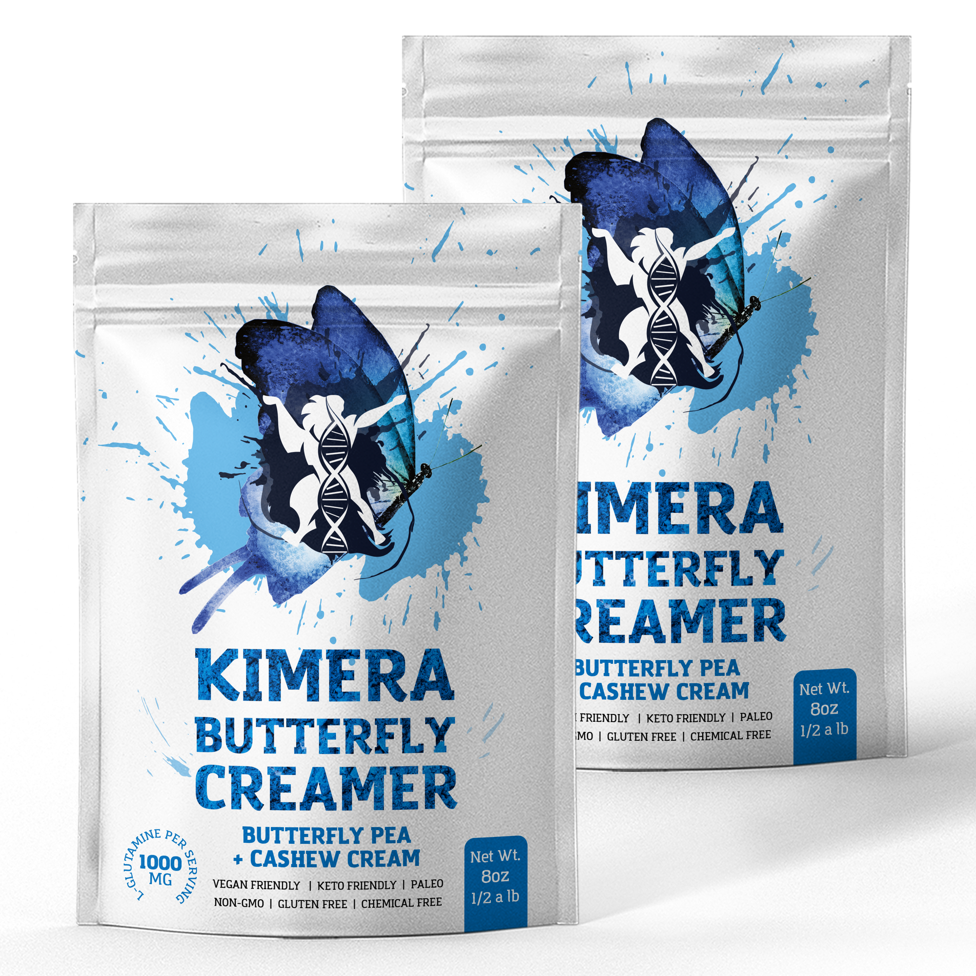 2 Pack - Kimera Butterfly Creamer (8oz)