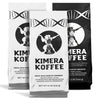 3 Pack - 2x Kimera Koffee Original (12oz) + Kimera Koffee Dark (12oz) - Organic Ground