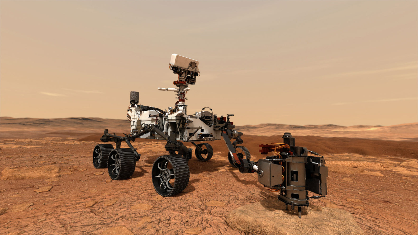 Life On Mars? Watch NASA's Perseverance Rover Start Its Journey To The Red Planet