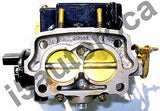 MARINE CARBURETOR 2BBL ROCHESTER 2GC 4 CYL MERCRUISER 1351-4263A1 ELECTRIC CHOKE - Marine Carburetors