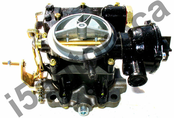 MARINE CARBURETOR 2BBL ROCHESTER 2GC 4 CYL MERCRUISER 1351-7355A1 ELECTRIC CHOKE - Marine Carburetors
