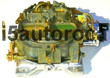 SET OF 2 MARINE CARBURETORS ROCHESTER QUADRAJET 5.7L 350 ELEC CHOKE DICHROMATE - Marine Carburetors
