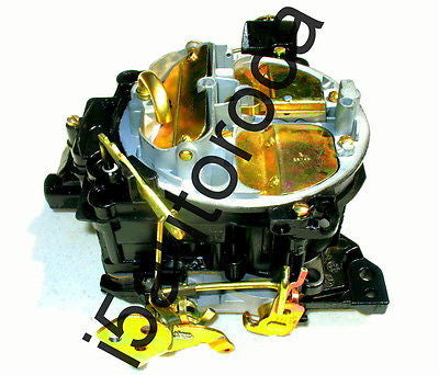 SET OF 2 MARINE CARBURETORS 4BBL ROCHESTER QUADRAJET4MV 7.4L 454 ENG MERCRUISER - Marine Carburetors