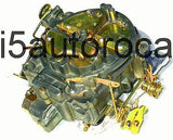 SET OF 2 MARINE CARBURETORS 4BBL ROCHESTER QUADRAJET 8.2L 502CID MERC DICHROMATE - Marine Carburetors