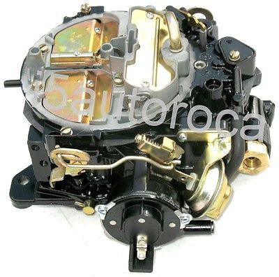 MARINE CARBURETOR 4 BBL QUADRAJET FOR OMC V8 ELECTRIC CHOKE REPLACES 17057290 - Marine Carburetors