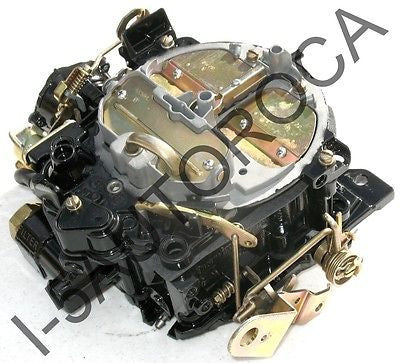 MARINE CARBURETOR 4 BARREL ROCHESTER QUADRAJET OMC 5.0L 350 ELECTRIC CHOKE - Marine Carburetors