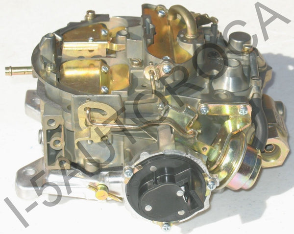 MARINE CARBURETOR FOUR BARREL QUADRAJET 350 5.7L MCM 255 ELEC CHOKE DICHROMATE - Marine Carburetors
