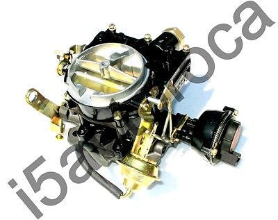 MARINE CARBURETOR ROCHESTER 2 BARREL REPLACES OMC 983850 WITH ELECTRIC CHOKE - Marine Carburetors