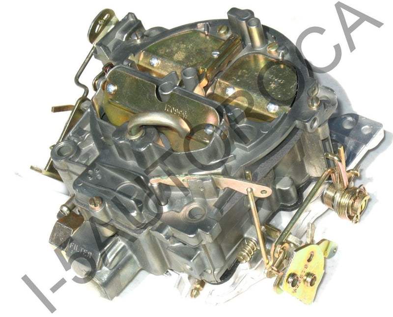 MARINE CARBURETOR 4BBL ROCHESTER QUADRAJET MERCRUISER 502 8.2 DICHROMATE FINISH - Marine Carburetors