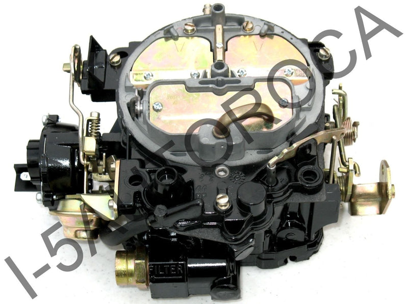 MARINE CARBURETOR ROCHESTER QUADRAJET MIE 5.7L 350 17085013 ELECTRIC CHOKE MERC - Marine Carburetors