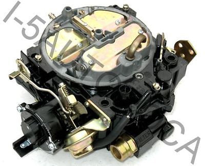 MARINE CARBURETOR 4 BBL ROCHESTER QUADRAJET 502 MERCRUISER 8.2L ELECTRIC CHOKE - Marine Carburetors