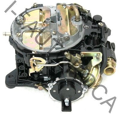 MARINE CARBURETOR 4 BARREL ROCHESTER QUADRAJET MERCRUISER MCM 255 ELECTRIC CHOKE - Marine Carburetors