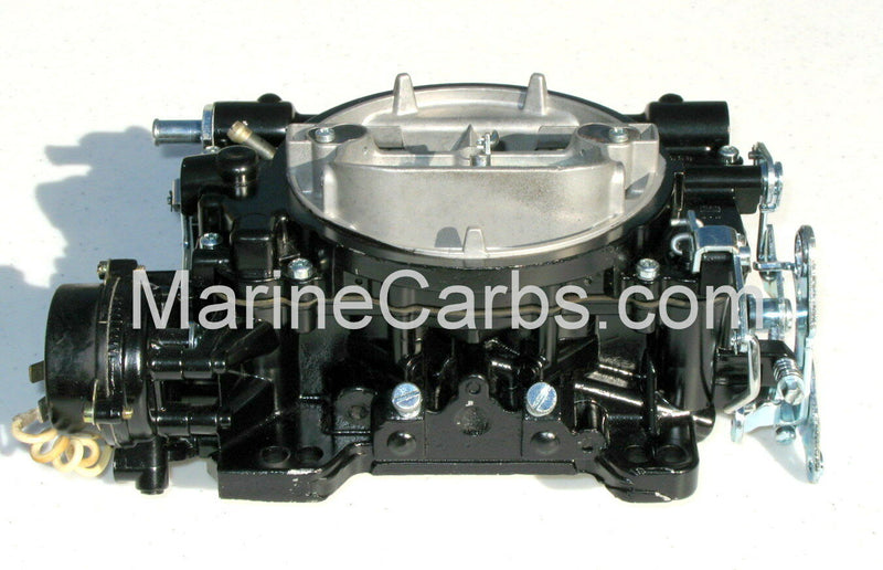 MARINE CARBURETOR WEBER 4 BARREL REPLACES 9779S FOR 454 7.4 MERC ELECTRIC CHOKE - Marine Carburetors