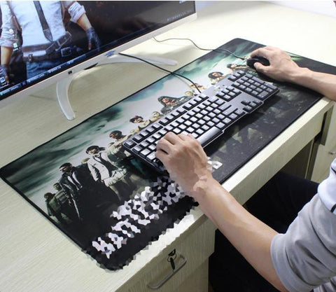 Characters Mouse Mat Desktop Large Size High Quality Surface
