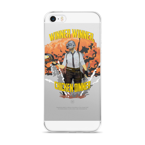 iPhone 5/5s/Se, 6/6s, 6/6s Plus Case winner winner design