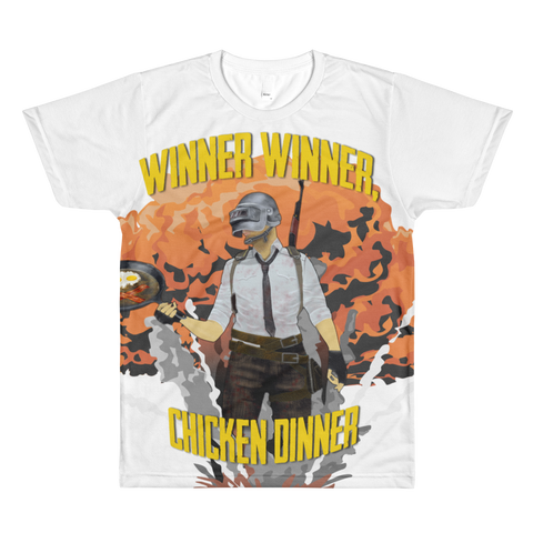 All-Over Printed T-Shirt Winner Winner design