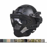 Level 3 IRL Helmet W/ G4 Rail System & Full Face Mast, Quick Detach, Comfortable.