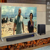 5.1 Wooden subwoofer + Sound Bar And Remote 3.5mm output 50+200W