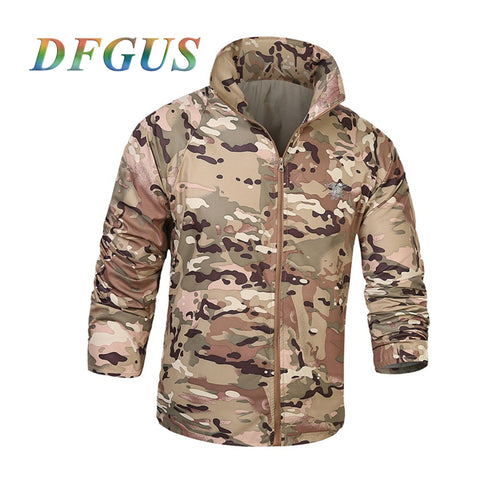 Army Tactical Jacket UPF50+ Waterproof Fast Dry - Outdoors