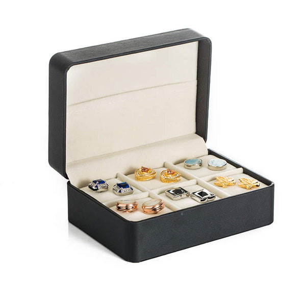 Cuff links Gift Box for up to 6 pairs