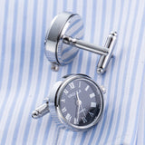 Real Battery Operated Watch Cuff Links