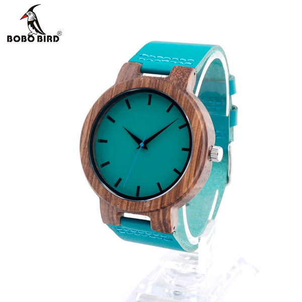 BOBO BIRD High Quality Bamboo Wood Watch