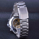 Classic Series Golden Movement Stainless Steel Watch