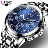 Full Steel Waterproof Men's Watches